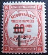 R1703/649 - 1926 - TIMBRE TAXE - N°53 NEUF* - Cote : 23,00 € - Segnatasse
