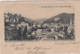 Luxembourg Larochette Carte Precurseur Cachet Affranchissement 1901 Larochette - Larochette