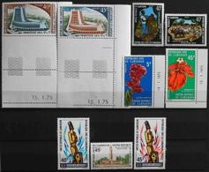 Afrique > Cameroun - 9 Timbres NEUFS** - Parf. Etat - Cameroun (1960-...)