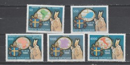VATICAN  1989  N° 867 / 71  Neuf X X Série Complete Voyage SS Jean Paul II - Vatican