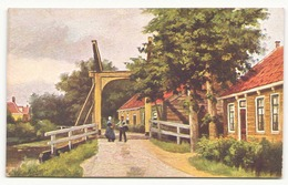 PAYSAGE HOLLANDAIS - Peintures & Tableaux