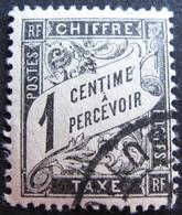 R1703/651 - 1881 - TIMBRE TAXE - N°10 ☉ - CàD - Cote : 2,50 € - Taxes