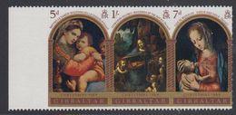 Gibraltar 1969 Christmas Strip 3v ** Mnh (41485L) - Gibraltar