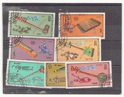 Mongolie, 1986, N° 1451 / 1457 Oblitéré - Mongolie