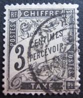 R1703/652 - 1881 - TIMBRE TAXE - N°12 ☉ - CàD - Cote : 28,00 € - Taxes
