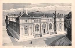 GRENOBLE Place De Verdun Le Musee Et Les Alpes 12(scan Recto-verso) MA1901 - Grenoble