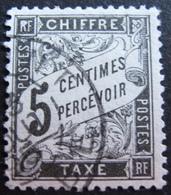 R1703/653 - 1881 - TIMBRE TAXE - N°14 ☉ - CàD - Cote : 35,00 € - Taxes