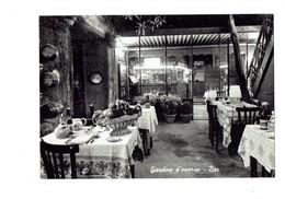 Cpm - Orvieto - Ristorante Restaurant TEA ROOM Giardino D'inverno Bar Bouteille Vin Tonneau BIGI MASSITO Coupe Fruits - Italie