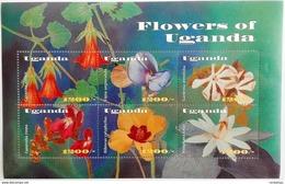 Uganda 2002** Klb. 2484-89. Flowers Of Uganda MNH [4;66] - Pflanzen Und Botanik