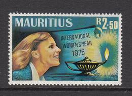 1975 Mauritius  International Women's Year Woman & Aladdin's Lamp  Set Of 1 MNH - Mauritius (1968-...)