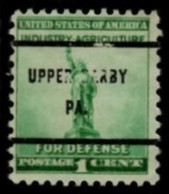 "USA Precancel Vorausentwertung Preo, Locals ""UPPER DARBY"" (PA). - Etats-Unis"