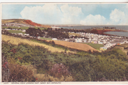 Postcard - General View Looking East, Sandy Bay, Exmouth - Posted 16-06-1958 - Card No. 44579 - VG - Cartes Postales