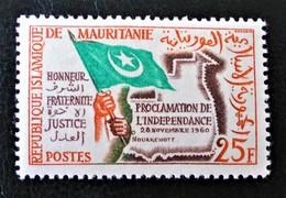 FETE DE L'INDEPENDANCE 1960 - NEUF * - YT 154 - MI 177 - Mauritania (1960-...)