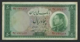 (Iran) 50 Rials 1954 . - Iran