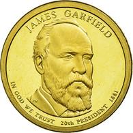Monnaie, États-Unis, Dollar, 2011, U.S. Mint, James Garfield, SPL - Emissioni Federali
