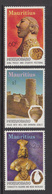 1976 Mauritius  UNESCO Campaign To Save Mohenjo-Daro Excavations Set Of 3 MNH - Mauritius (1968-...)