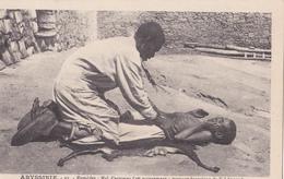 ABYSSINIE/Remèdes: Mal D'estomac (1er Mouvement:massage énergique De L 'abdomen) Réf:fm871 - Ethiopie