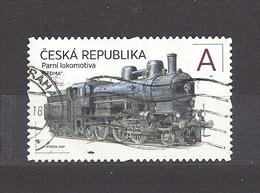 """Czech Republic 2017 Gest ⊙ Mi 929-930 The Steam Locomotive """"THE SEVEN"""". - Tchéquie"""