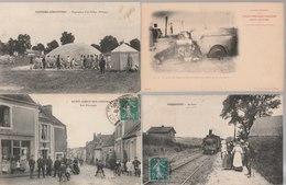 Lot De 100 Cartes Postales Anciennes Diverses Variées Dont 4 Photos, Très Bien Pour Un Revendeur Réf, 326 - Cartes Postales