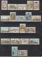 1978 Mauritius Anniv's & Events, Maps, Ports, Set Of 20 MNH - Mauritius (1968-...)