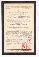 DP Ludovicus Th. Van Beckhoven ° Mol 1834 † 1900 X Maria J. Frison - Images Religieuses