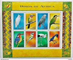 Sierra Leone 1999** Klb.3214-21. Birds Of Africa MNH [4;69] - Oiseaux