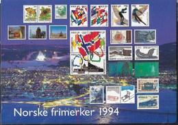 NORVEGIA - EMISSIONI 1994 - NUOVA - Francobolli (rappresentazioni)
