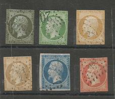 Napoléon III N° 11/12/13/14/16 Défectueux - 1853-1860 Napoleon III