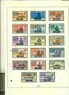 VIERGES SERIE COURANTE BATEAUX 17 VAL NEUFS A PARTIR DE 3.50 EUROS - British Virgin Islands