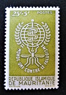 ERADICATION DU PALUDISME 1962 - NEUF  * - YT 155 - MI 190 - Mauritania (1960-...)