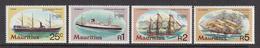 1980 Mauritius London Intl Stamp Exhibition Ships Set Of 4 MNH - Mauritius (1968-...)