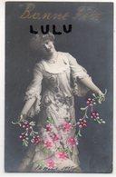 FEMMES 672 : Avec Ajout Des Fleurs , Bonne Fête : édit. F M K N° 3762 - Femmes