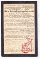 DP Maria Gislenus F. Van Assche ° Londerzeel 1827 † Ramsdonk Kapelle-op-den-Bos 1900 X Bibiane Van Capellen - Images Religieuses