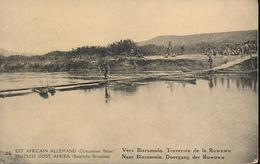 GEA RUANDA URUNDI PPS 1918 ISSUE STIBBE 11 VIEW 35 CTO - Entiers Postaux