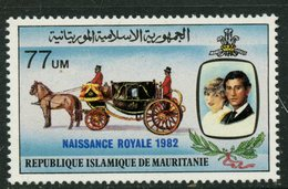 Mauritanie 1982 77u Royal Wedding Issue #520 MNH - Mauritania (1960-...)