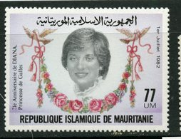 Mauritanie 1982 77u Princess Diana Issue #516 MNH - Mauritania (1960-...)