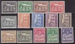 Turks E Caicos 689 * 1938 Giorgio VI, Soggetti Vari, SG N. 194/205. Cat. £ 130,00 MH - Turks E Caicos