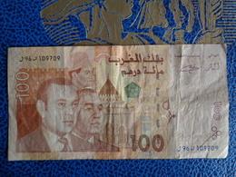BILLET 100 DIRHAMS BANK AL MAGHRIB - Maroc