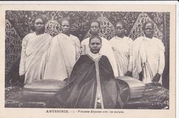ABYSSINIE/ Princesse Abyssine Avec Ses Esclaves/ Réf:fm876 - Ethiopie