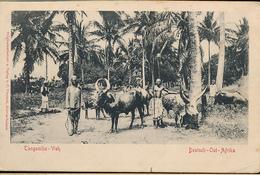 GEA RUANDA URUNDI WW1 OLD GERMAN PC FROM TABORA 1916 TO FRANCE - Ruanda-Urundi