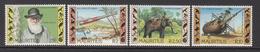 "1982 Mauritius Centenary Of The Death Of Charles Darwin, Portrait, Telescope, Ship ""Beagle"" Elephant Set Of 4  MNH - Mauritius (1968-...)"