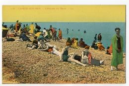 CPA 80 CAYEUX SUR MER L' Heure Du Bain (colorisée ) - Cayeux Sur Mer