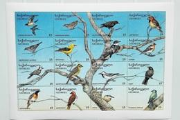 Georgia 1996** Klb.152-167. Birds MNH [4;72] - Oiseaux