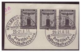 Dt-Reich (007267) Sonderstempel Auf Briefstück, Heilbronn (Neckar), Deutsches Meisterschaftsrudern, Gestempelt Am 20/21. - Deutschland