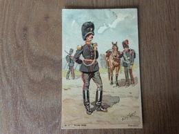 Armée Belge Grenadier Illustrateur Louis Goens - Guerre 1914-18