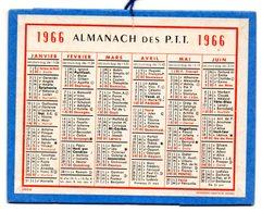 Calendrier Cartonné Almanach Des PTT 1966. - Calendars