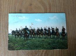 Armée Belge Charge Des Lanciers - Guerre 1914-18