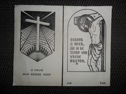 Doodsprentje ( G 194 )  Geeroms / Berckmans  - Meerbeke   - 1948 - Décès