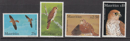 1984 Mauritius  Kestrels Set Of  4 MNH - Mauritius (1968-...)