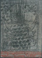 Turchia Turkey Ottomano Ottoman 1863 Ottoman Empire Stamps, 1 Ghr,  Black / Violet -used ,Singed - 1858-1921 Ottoman Empire